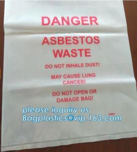 BIOHAZARD AUTOCLAVABLE,ASBESTOS, MEDICAL WASTE DISPOSAL SACKS, PATIENT BELONGING,SPECIMEN SAMPLING BAGS Manufactures