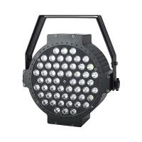 54x3w RGBW / RGB 3in1 led flat par light portable parcan Manufactures