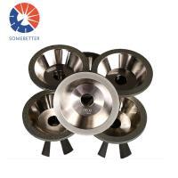 custom high quality diamond cutting CBN grinding wheel for carbide tools Manufactures