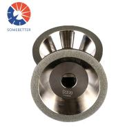 China factory 9 inch Abrasive Electroplated Diamond/Cbn Grinding Cutting Wheel For Grinding Carbide Manufactures