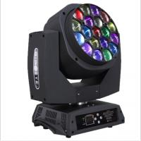 led stage light k10 4in1 led big bee eye 19pcs zoom China moving head light Manufactures