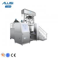 Small Vacuum Toothpaste Making Machine Ointment Emulsifying produce Manufactures