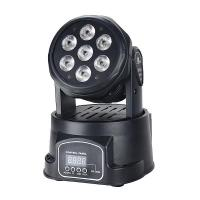 Hot selling mini 7x12w RGBW 4in1 led moving wash light Manufactures