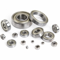 6314 2RS single row deep groove ball bearing for machine ABEC-1 Manufactures