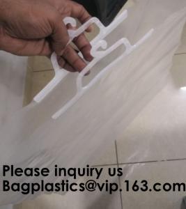 HANGER HOOK BAGS,GARMENT BOTTON CLOSURE BAGS, EVA FROST DRAWSTRING BAGS, VINYL HANGER HOOK BAG Manufactures
