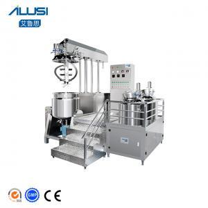 Ailusi Cosmetic Cream Vaccum Emulsifier Homogenizer Mixer Manufactures