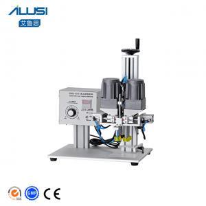 Pneumatic Semi Automatic Screw Capping Machine Price Manufactures