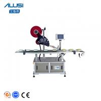 Pouch Automatic Sticker Flat Plane Labeling Machine Manufactures