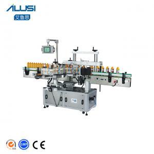 Plastic Bottle Label/ Liquid Soap Bottle Double Side Labeling Machine Manufactures