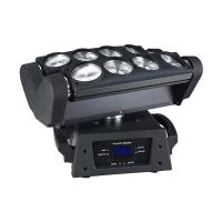 High quality 8 x 12w RGBW 4in1 led moving head beam spider light for sale Manufactures