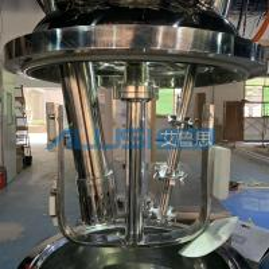 High Viscosity Toothpaste Vacuum Emulsifying Machine Paste Making Plant Manufactures