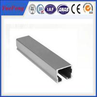 Alloy 6063 / 6061 Aluminum Extrusion Profiles Channel For LED Lighting Manufactures
