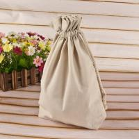 Custom Logo Printing Reusable Cotton Shopping Bags Fabric Drawstring Bags Manufactures