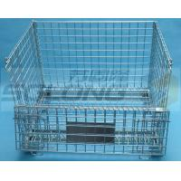 Light Duty Hexagonal Wire Container Storage Cages 6mm Wire Guage Manufactures