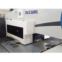 Quality 24 Working Station Sheet Metal Punch Press Machine CNC Control Closed Type for sale