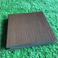Durable Co Extrusion Wpc Decking , Bamboo Plastic / Wood Polymer Composite Decking Manufactures