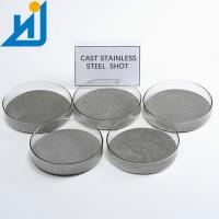 China 304 430 Stainless Steel Grit , Wire Casting Steel Shot And Grit 0.5mm 1.0mm on sale