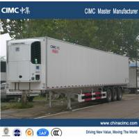 high performance refrigerated semi trailer with thermo king refriger Manufactures