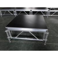 Quality Catwalk Portable Stage Platforms / Aluminum Folding Stage With 18mm Plywood for sale