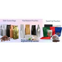 Recycled Eco Friendly Corn Starch Ziplock Stand Up Food Packaging 100%