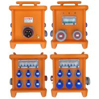 MK2 Multi Ways Powerhouse Portable Distribution Boxes With Disconnect And Overcurrent Protection Provided By MCB RCBO Manufactures