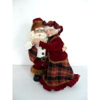 Customized 8Inch Toddler Electronic Toys of Dancing Santa Claus Couples for Chritmas Decor Manufactures