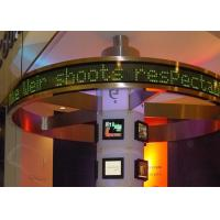 Scrolling outdoor led message boards for Bank and shop , DIP led display signs Manufactures