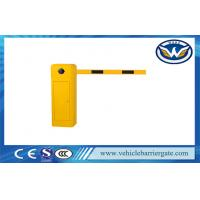 Remote Control Automatic Barrier Gates , Straight Boom Traffic Barrier Gates in 3m / 5m / 6m Manufactures