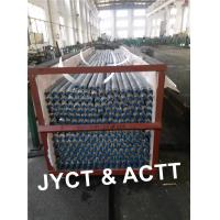 Aluminium Extruded Finned Tubes For Consender , Radiator Finned Tubes Manufactures