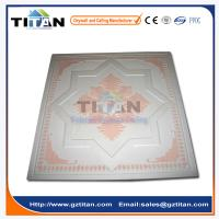 China Embossed Hand-Painted Grg Colored Gypsum Ceiling Tiles on sale