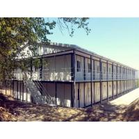 Two Story Steel Prefabricated Homes Warehouse Beam Industrial Building Manufactures