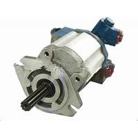 Aluminium Hydraulic Pump Forklift Truck Components For Mitsubishi S4S Engine Manufactures
