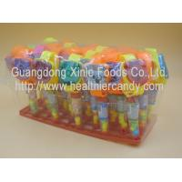 Sweet Colorful Novelty Candy Toys Fruit Flavor Compressed Hard Candies Manufactures