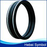 China large size galvanzied flanged rubber expansion joint on sale