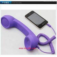 Phone Handset,Anti Radiation.No volume for iphone 4s/laptop/ipad Retro Telephone Receiver Manufactures