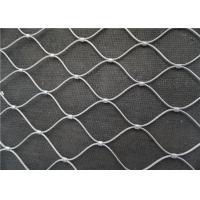 X Tend Architectural Wire Mesh , Stainless Steel Rope Wire Mesh Cladding Manufactures