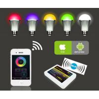 RGBw warm white 9w led bulb, remote control led light bulb,wifi color changing bulbs light Manufactures