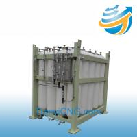China Ground storage tank, storage cylinder,cyliner cascade for CNG station on sale