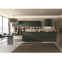 Integral Acrylic Kitchen Cabinets With DTC Cushioning / Damping Hinge Manufactures