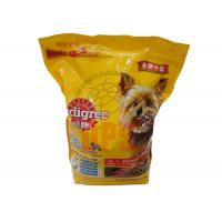Large Pet Food Packaging Plastic Zipper Bags For Storage Aluminium Laminated Material Manufactures
