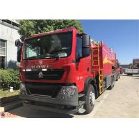 Two Seats Fire Pumper Truck , USB Interfac Audio Player Fire Rescue Vehicles Manufactures