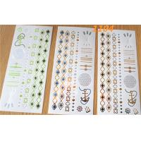 Flash Temporary Tattoo Sticker for CMYK printing non - toxic passed Manufactures