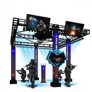 Commercial Escape Room Big VR Standing Platform 9D VR Station Space HTC VIVE Virtual Reality System Manufactures