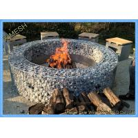 Hot Dipped Galvanized Garden Welded Gabion Retaining Wall / Welded Gabion Stone Cage Box Manufactures