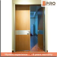 Break Resistance MDF Interior Doors Eco Friendly With Handles And Hinge Manufactures