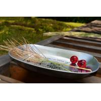 Print Small  Tin Ice Bucket Metal Serving Tray 250 x 165 x 30 mm Manufactures