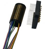 LPS-15 separate slip ring with 250mm low electrical noise and color-coded lead wires Manufactures
