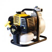 China Gardening tools Yellow color 2 stroke 33cc petrol 1inch' WP36 water pump on sale