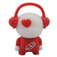 Novelty usb flash drives cartoon music boy shaped usb pen drive gifts avaliable Manufactures