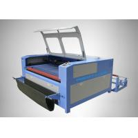 China Stepping Motor Large Size Co2 Laser Engraving Equipment With Auto Feeding System on sale